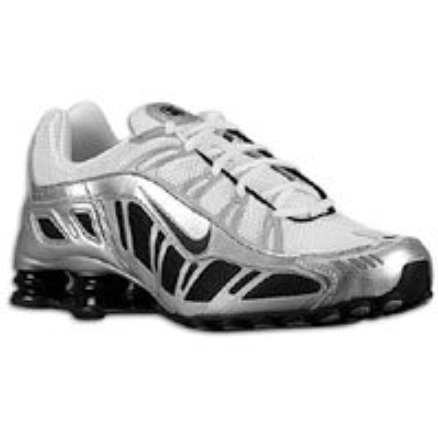 size 40 c70c1 27cb6 ... reduced images for nike shox turbo 3.2 sl white black metallic silver  size 7 455541 102