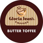 Gloria Jeans Coffee Butter Toffee K-Cups 96ct (Flavored)