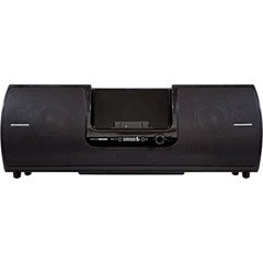 Audiovox Sirius Subx2 Speaker Dock Portable Sound System -Black