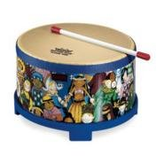 Remo Rhythm Club, Floor Tom, 10 Diameter, 5 Height, Rhythm Kids Graphics