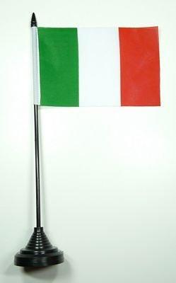 Fahne / Tischflagge Italien NEU 11 x 16 cm Flaggen