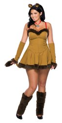 Cowardly Lion Women's Plus Size Costume PROD-ID : 560558 (Cowardly Lion Costume Plus Size)