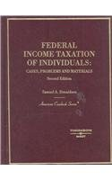 Federal Income Taxation of Individuals: Cases, Problems and Materials (American Casebook Series) e-book downloads