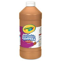 * Artista II Washable Tempera Paint, Brown, 32 oz
