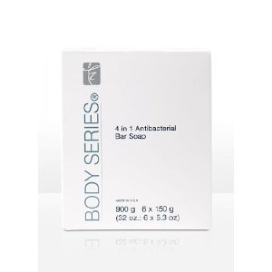 BODY SERIES 4-in-1 Antibacterial Bar Soap 6 / 5.3-oz. bars