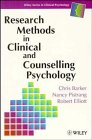 img - for Research Methods in Clinical and Counselling Psychology (Wiley Series in Clinical Psychology) book / textbook / text book