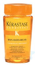 Kerastase Nutritive Bain Oleo-Relax Smoothing Shampoo For Dry and Rebellious Hair, 8.5 Ounce Deals