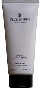 Pecksniffs Gardenia & White Peach Hand & Nail Treatment Cream 6.76 Fl.Oz. From England