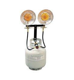 Century 28,000 BTU Double Head Heater (Dual Propane Heater compare prices)