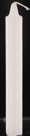 1 Dozen White Household Tapered Candles (12)