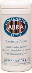 Abra Cellular Detox Sea Salt Bath, Grapefruit & Juniper, 1 Pound
