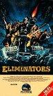 Eliminators VHS Tape