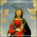 echange, troc  - Andrea Gabrieli: Madrigali e Canzoni