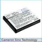 Battery for Canon Digital IXUS 100 IS, Digital IXUS 110 IS, Digital IXUS 120 ...