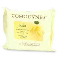 Comodynes Make Up Remover Towels for Face and Eyes 20 ea