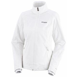 Columbia No Fail Trail Womens Softshell Jacket - White, X- Large