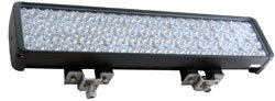 240W Led Light - 80 Leds - Visible / Infrared Combination Light - 1750' X 300' Beam(-Spot-Ir750-Blac