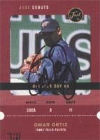Omar Ortiz Idaho Falls Padres - Padres Affiliate 2000 Just Debuts Autographed Hand... by Hall of Fame Memorabilia