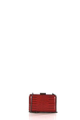 Pochette Accessori Olga Berg Tu Rosso Ob1627.red Autunno Inverno 2016/17