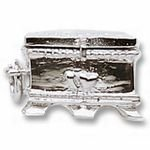 Rembrandt Charms Hope Chest Charm - Sterling Silver