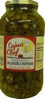 Cajun Chef Nacho Sliced Jalapeno Pepper 1 Gallon Glass Jar (128oz) (Cajun Chef Jalapeno compare prices)