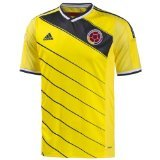 Adidas Colombia Home Soccer Jersey World Cup 2014