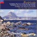 メンデルスゾーン:交響曲第3番「スコットランド」/第4番「イタリア」