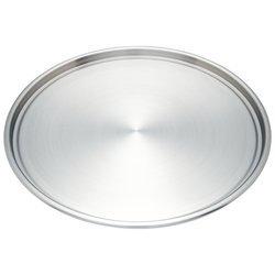 "Maxam KTBKPZ 12"" Stainless Steel Pizza Baking Pan"