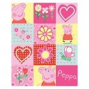 Manta polar Peppa Pig Collage en Bebe Hogar
