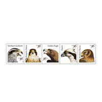 Birds of Prey full Sheet of 20 x 85 cent us Postage Stamps NEW Mint