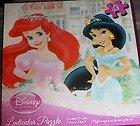 Disney Princess Lenticular Puzzle Ariel Puzzle 48 Piece 3D Puzzle - 1