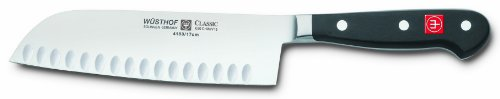 Wusthof Classic 7-Inch Hollow Edge Santoku Knife