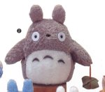 My Neighbor Totoro 9 tall gray Totoro Plush