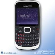 Huawei Pinnacle 2 QWERTY CDMA Cell Phone Black Metro PCS