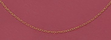 14/20 Gold Filled Cable Chain Necklace, 1mm, 13 + 1 inch Extension, Child-Size, Spring Ring Clasp