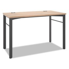 -- Manage Series Desk Table, 48w x 23 1/2d x 29 1/2h, Wheat