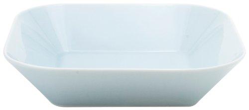 Kahla - Porcelaine pour les Sens 423333A93003C Cumulus Plat de Service Carré Aqua Bleu 5 cm