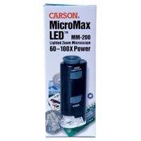 Carson Micromax Portable Microscope W/Led