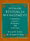 img - for Human Resource Management: Perspectives, Context, Functions and Outcomes by Gerald R. Ferris (1995-07-06) book / textbook / text book