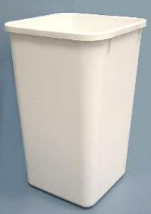 Rev-A-Shelf 27Qt Replacement Waste Bin White
