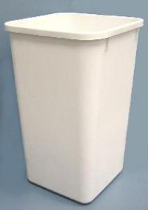 Rev-A-Shelf 27Qt Replacement Waste Bin White