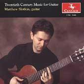 Twentieth Century Music for Guitar