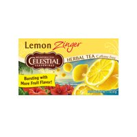 Celestial Seasonings Lemon Zinger Herb Tea, 20 Bags (Pack Of 2)