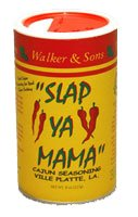 Slap Ya Mama Cajun Seasoning from Walker & Sons Inc