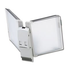 * Modular Reference Display Extension Unit, 10 Wire-Reinforced Pockets