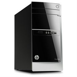 HP - Pavilion Desktop - AMD A8-Series - 8GB Memory - 2TB Hard Drive -Model: 500-424