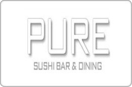 Pure Sushi Bar & Dining Gift Card ($175)