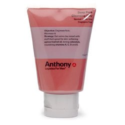 Anthony Logistics for Men Anthony Logistics for Men Deep Pore Cleansing Clay, 4 Ounce