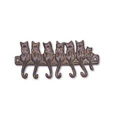Seven Cat Key Hook