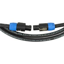 Speaker Cable 4 Conductor Speakon-Speakon 50 Ft.-By-Tecnec